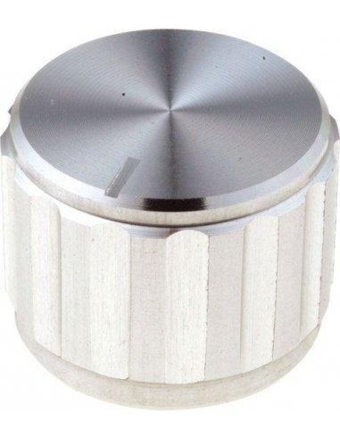 Botão para Potenciómetro 6,35mm Ø25x15mm   Rotary Switch  