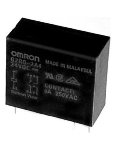 Omron G2RG-2A4 Relé 24Vdc DPST-NO 8A 250Vac