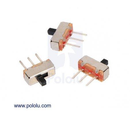 Mini Interruptor Deslizante 3 pinos SPDT 0.3A - Pack de 3 | Slide switch |