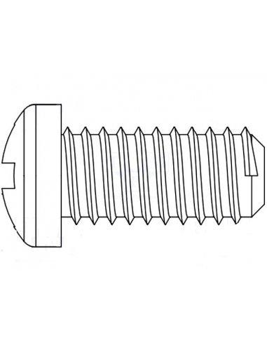 Parafuso M2.5 Nylon 10mm