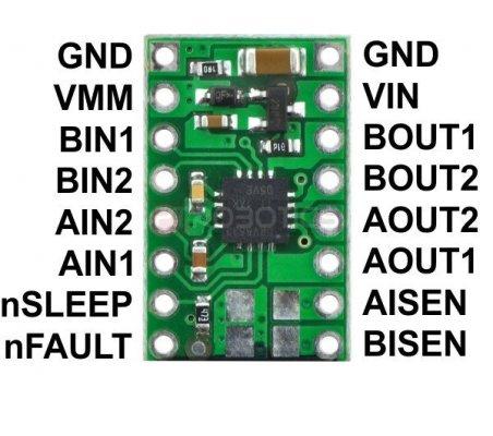 DRV8833 Dual Motor Driver Carrier