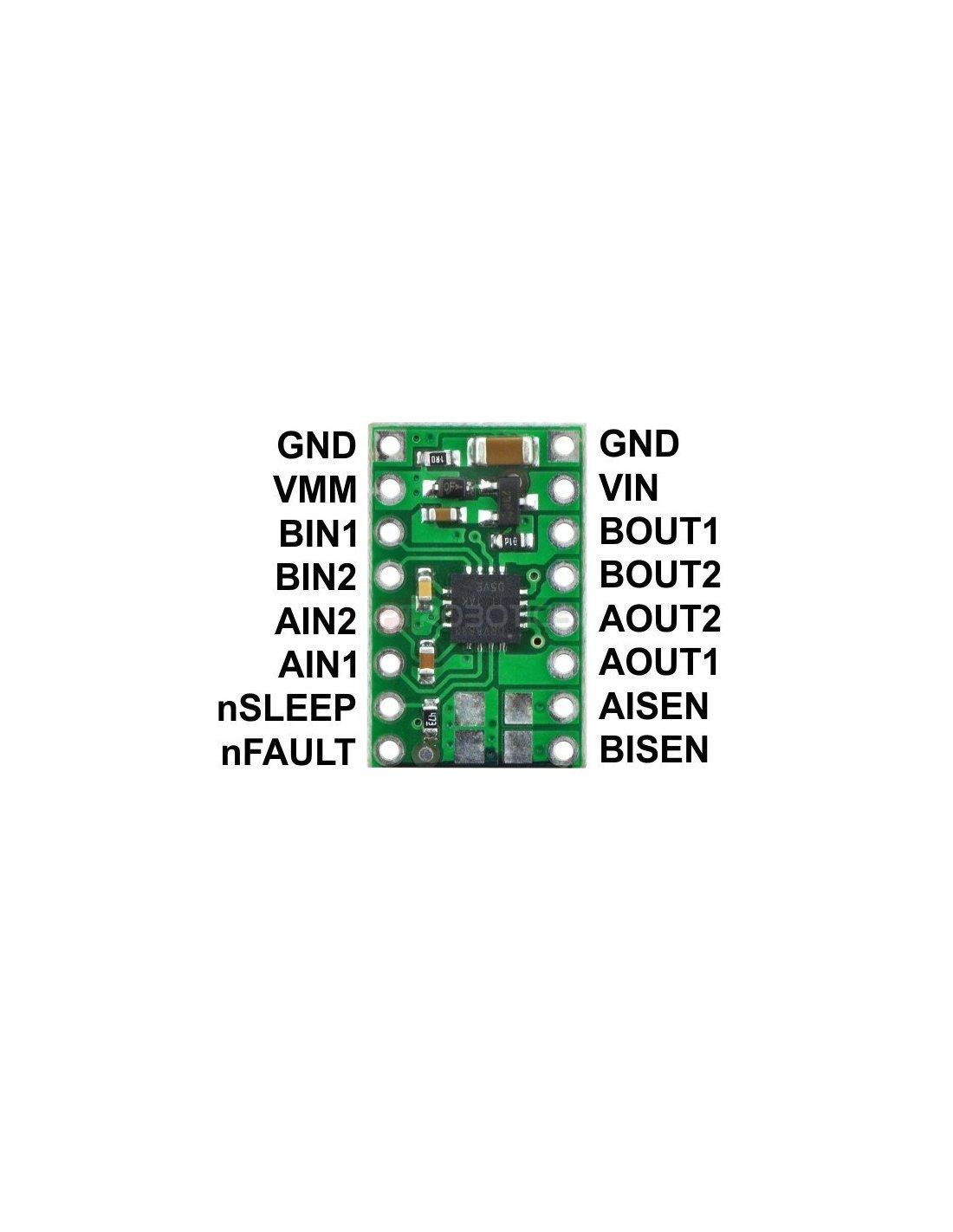 Motor Driver / Control : DRV8833 Dual Motor Driver Carrier