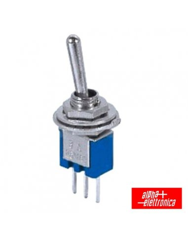 Interruptor Alavanca Miniatura On-Off-On