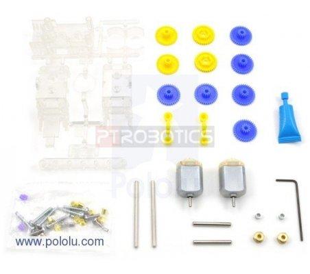 Tamiya 70168 Double Gearbox Kit | Motor DC com Engrenagens |