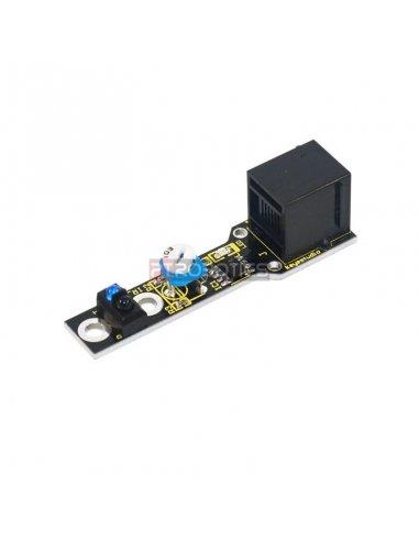 Módulo Sensor Seguidor de Linha com Ligação EASY para Arduino Keyestudio | Ensino Básico |