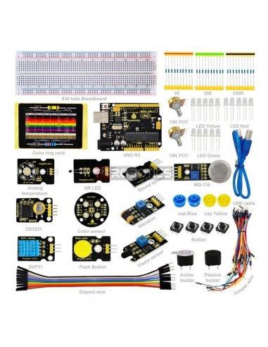 Kit Sensores K4 com Arduino Uno Keyestudio | Kit Arduino |