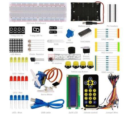 Kit de Iniciação para Arduino Uno Keyestudio | Kit Arduino |