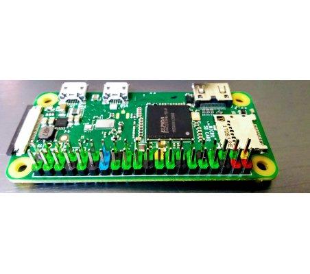 Barra de Pinos Colorida 2x20 Macho para Raspberry Pi   Varios - Raspberry Pi  