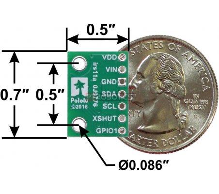 Sensor de Distância VL53L3CX com Regulador de Voltagem