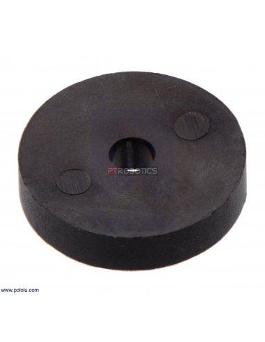 Disco Magnético para Codificador de Motores 20D, OD 9.7mm, ID 2.0mm, 12CPR (5 peças)