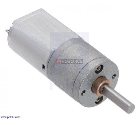 Motor com engrenagem 31:1 - 20Dx41L mm 6V | Motor DC com Engrenagens |