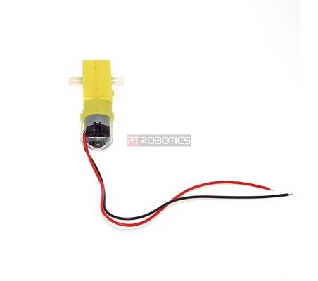 Motor com Engrenagem 1:48 3-12V | Motor DC com Engrenagens |