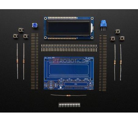 Shield LCD RGB com Display Alfanumérico 16x2 - Positivo | LCD Alfanumerico |