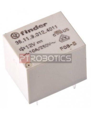 Relé SPDT Finder 6Vdc 10A 250Vac