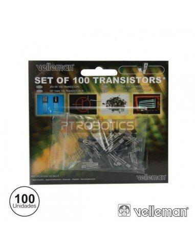 Kit Transistores Velleman K/TRANS1 - 100 Peças | Transistores |