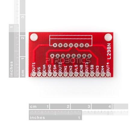 Adaptador para L298N - SparkFun | Pontes H |