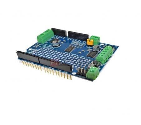 Shield para Motores Stepper e DC com Controle I2C - TB6612FNG | Shields Varios |