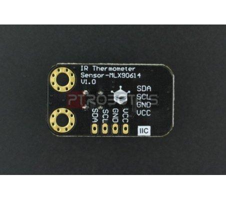 Gravity: Sensor Temperatura Infravermelho I2C sem contacto MLX90614-DCI   Sensores Ópticos  