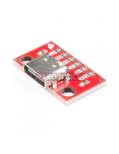 Placa Breakout USB-C | Conversores |