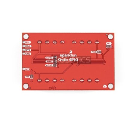 Módulo Qwiic GPIO TCA9534 I2C - SparkFun   Varios  