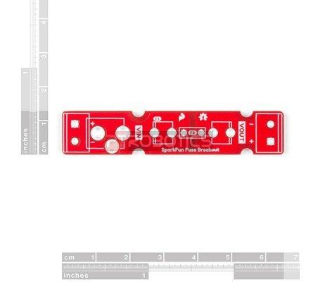 Módulo Fusível com Suporte e Ficha 2.1mm - SparkFun   Kits DIY  