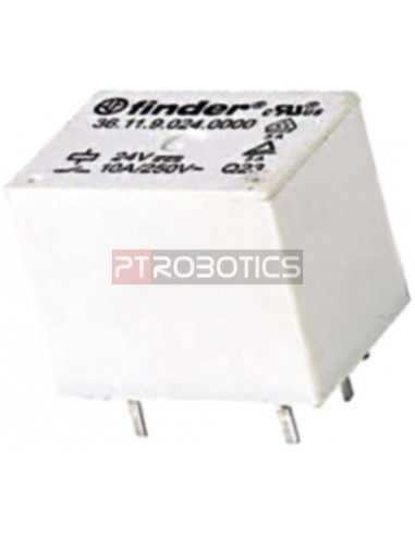 Relé SPDT 12Vdc 10A/250Vac   Relés  