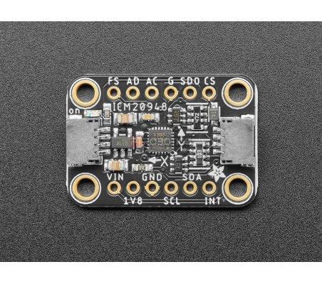 Sensor Adafruit TDK InvenSense ICM-20948 9-DoF IMU (MPU-9250 Upgrade) - STEMMA QT / Qwiic   IMU  