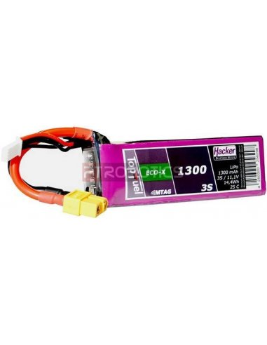 Bateria LiPo 11.1V 1300mAh XT60