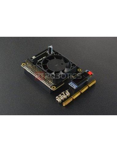 HAT Ventoinha Inteligente para Raspberry Pi 4 e 3B   HAT   Placas de Expansão Raspberry Pi  