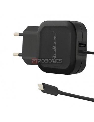 Fonte de Alimentação USB C 5V 3.4A - Preto | Fonte de Alimentação |