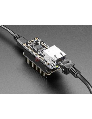Adafruit Ethernet FeatherWing | Feather |