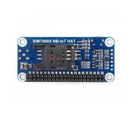 SIM7000E HAT NB-IoT / eMTC / EDGE / GPRS / GNSS para Raspberry Pi   HAT   Placas de Expansão Raspberry Pi  