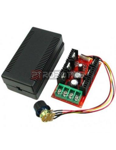 Regulador de Velocidade e Voltagem para Motor DC - PWM 2000W 10V-50V 40A
