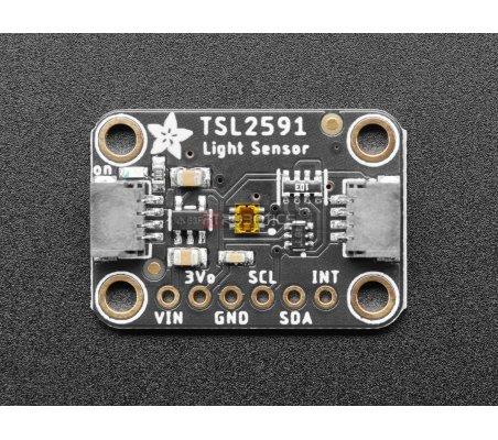 Sensor de Luz Digital de Longo Alcance - Adafruit TSL2591 | Sensores Ópticos |