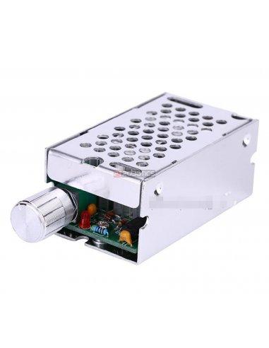 Regulador de Velocidade e Voltagem para Motor DC - PWM 10V-60V 8A - CCM5NJ | Reguladores |