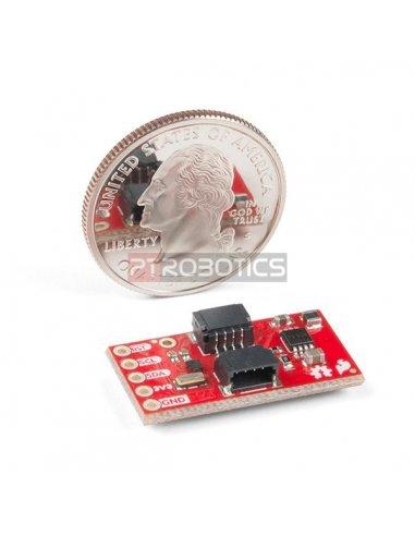 Módulo Oxímetro de Pulso e Sensor de Frequência Cardíaca - MAX30101 & MAX32664 (Qwiic)
