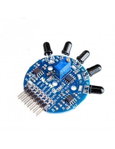 Módulo Sensor de Chama - 5 Canais