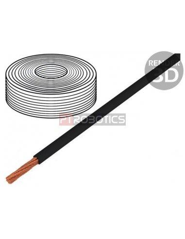 Fio Multifilar Preto 1.1x0.14mm2 - 1mt