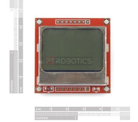Graphic LCD 84x48 - Nokia 5110   LCD Alfanumerico  