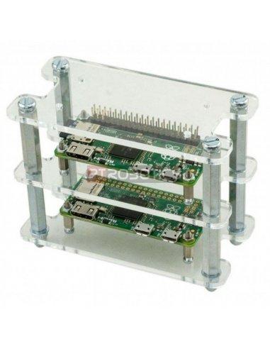 Caixa de Estrutura Empilhável para Raspberry Pi Zero Case