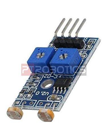 Modulo Sensor de Luz LDR - 2 Canais