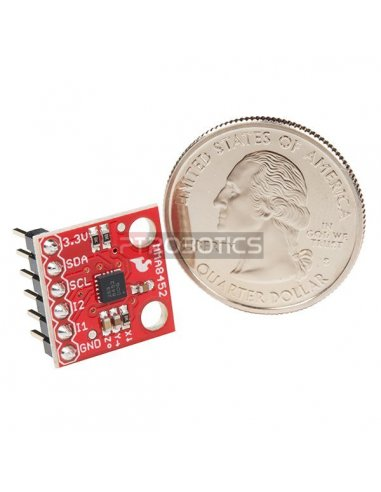 Módulo Acelerómetro Triplo Eixo - MMA8452Q (com Headers) - Sparkfun