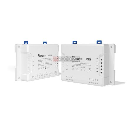 SONOFF Interruptor Inteligente WiFi com 4 Canais e Controlo RF 4CHPROR3