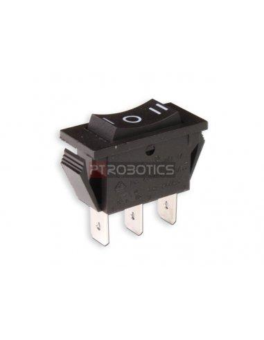 Interruptor Rocker SP3T ON-OFF-ON 16A/250VAC
