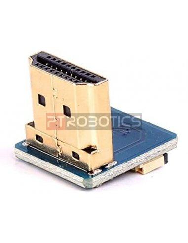 Cabo DIY HDMI: Ficha Adaptadora HDMI 90º