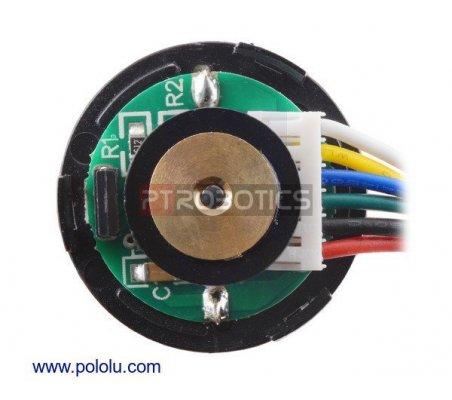 Motor 99:1 com Caixa Redutora e Encoder 48 CPR