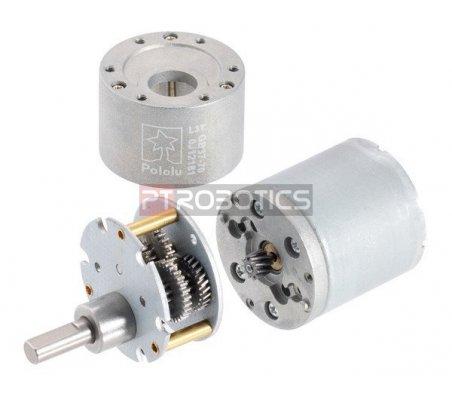 Motor 100:1 com Caixa Redutora e Encoder 64 CPR