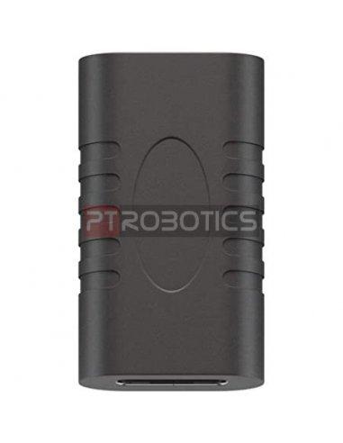 Adaptador USB C Fêmea-Fêmea