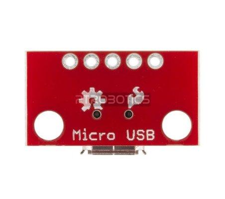 Breakout Board for USB microB