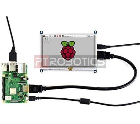 Ecrã LCD Tátil Resistivo 5 Polegadas 800x480